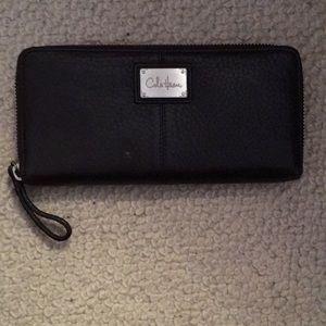 Dark Brown Cole Haan Continental Wallet